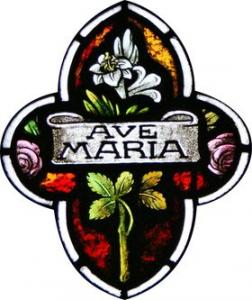 Ave Maria et lys