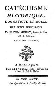Catéchisme des fêtes abbé Meusy