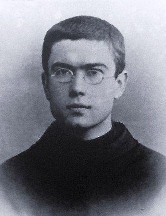 Saint Maximilien-Marie Kolbe jeune religieux