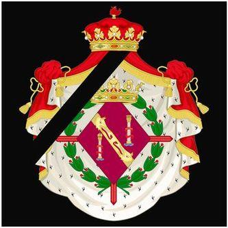 Deuil de Madame la Duchesse de Franco