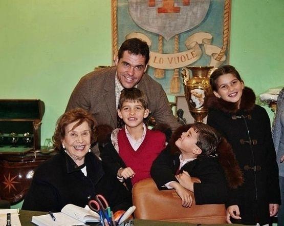 Prince Louis & Enfants de France avec la Duchesse de Franco