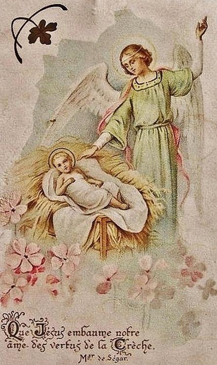 Que Jésus embaume notre âme des vertus de la Crèche