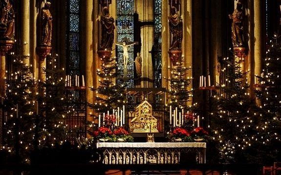 Cathédrale de Cologne - châsse des Saints Rois Mages
