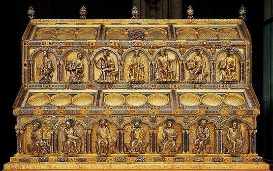 Châsse des Saints Rois - côté de David