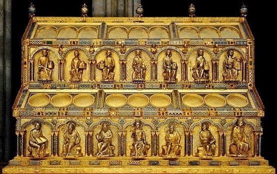 Châsse des Saints Rois - côté de Salomon