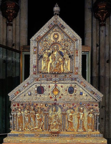 Châsse des Saints Rois Mages - cathédrale de Cologne