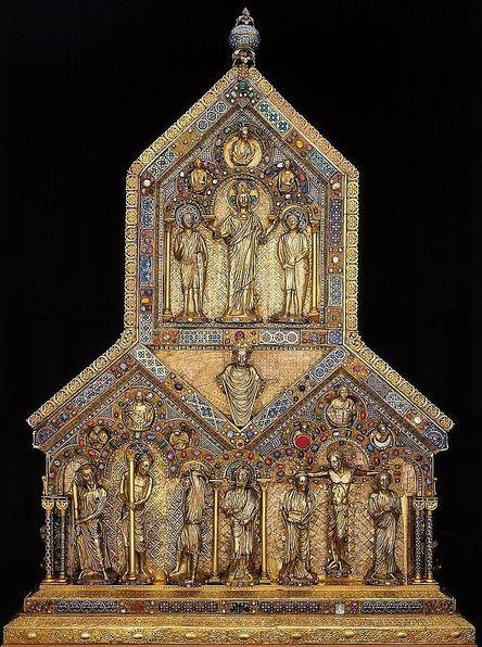 Châsse des Saints Rois Mages - face arrière