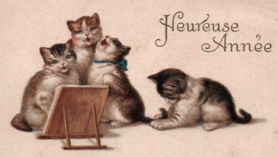 Chats Bonne Année 3