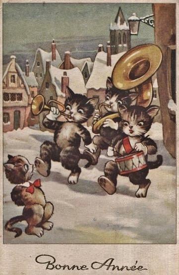 Chats Bonne Année 4