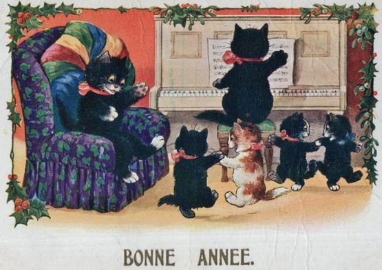 Chats Bonne Année 5