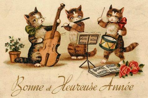 Chats Bonne Année 6