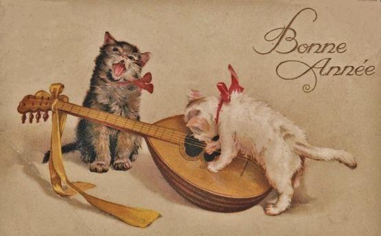 Chats Bonne Année 7