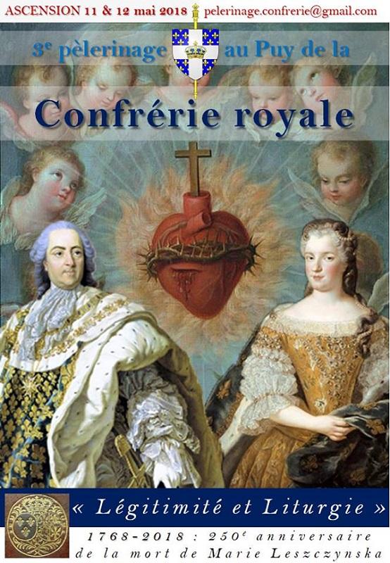 affiche pèlerinage Confrérie Royale le Puy 11 & 12 mai 2018