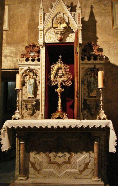 autel du Saint Mors