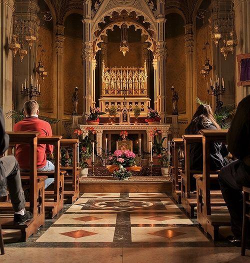 Basilique du Monte Senario - châsse des Sept Saints Fondateurs