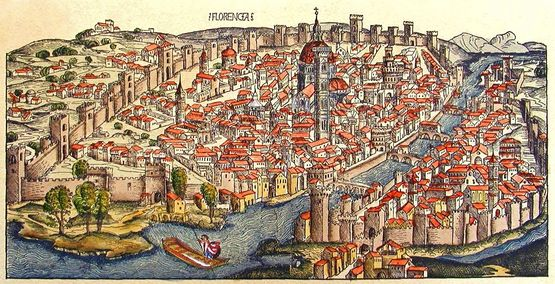 Florence vers 1493