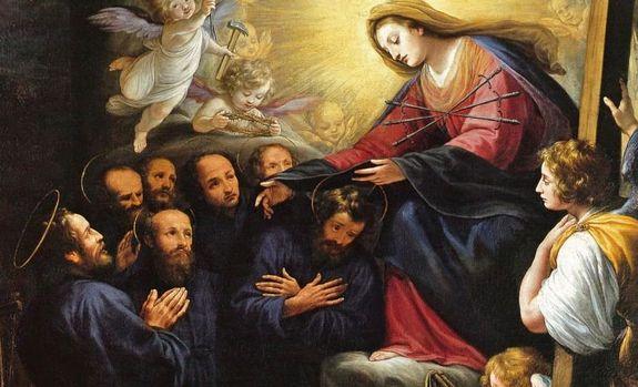 Sept Saints Fondateurs - détail