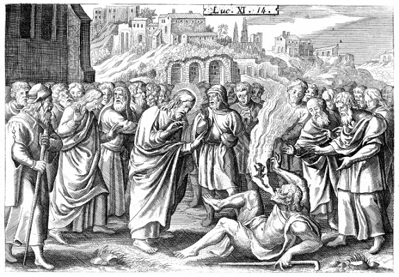 Luc XI 14 expulsion du démon muet