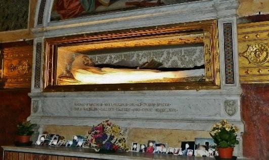 Sainte Françoise Romaine - châsse