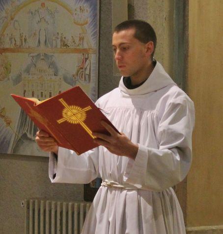2 - chant de l'épître de la bénédiction des Rameaux
