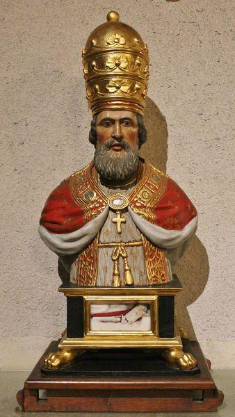 Buste reliquaire de Saint-Clément