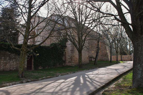 chapelle Sainte-Roseline arrivée