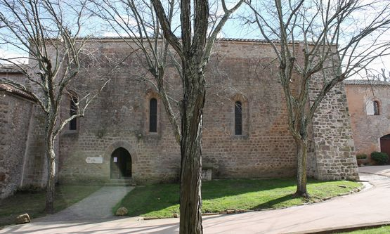 chapelle Sainte-Roseline façade nord