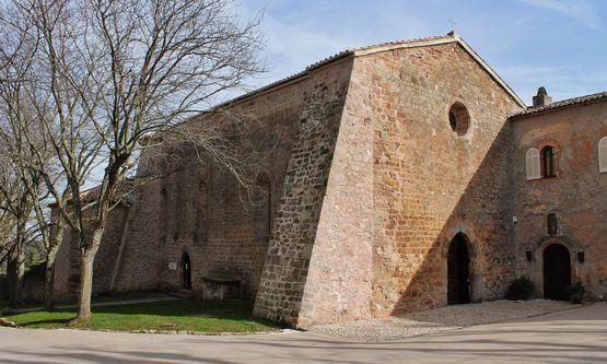 chapelle Sainte-Roseline façade occidentale