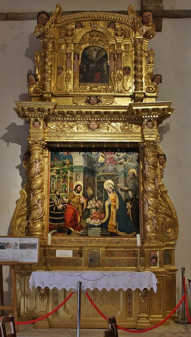 chapelle Sainte-Roseline retable de la Nativité