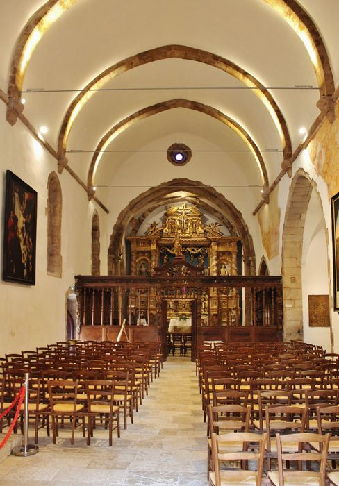 chapelle Sainte-Roseline vue intérieure générale