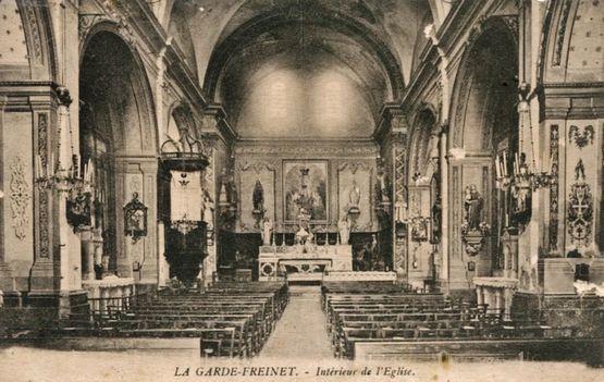 Eglise Saint-Clément avant le concile