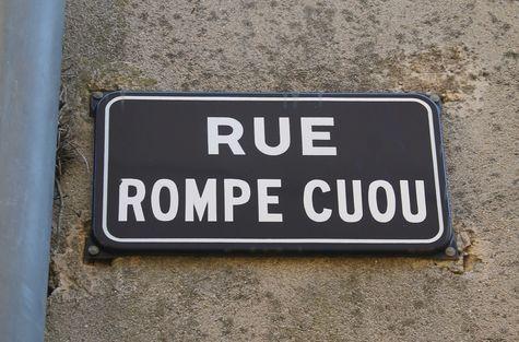 La Garde-Freinet nom de rue