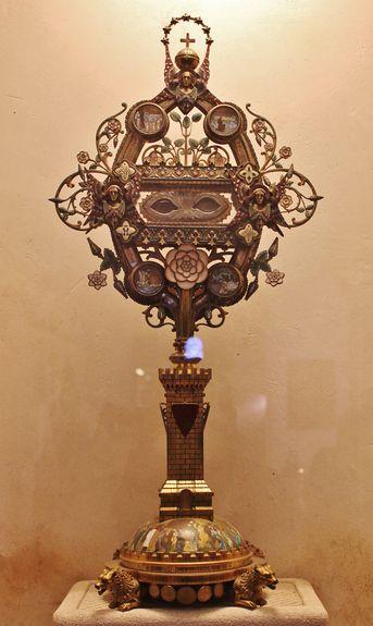 Reliquaire des yeux de Sainte Roseline