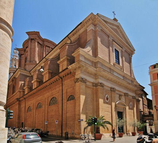 Sant' Andrea delle Fratte - extérieur