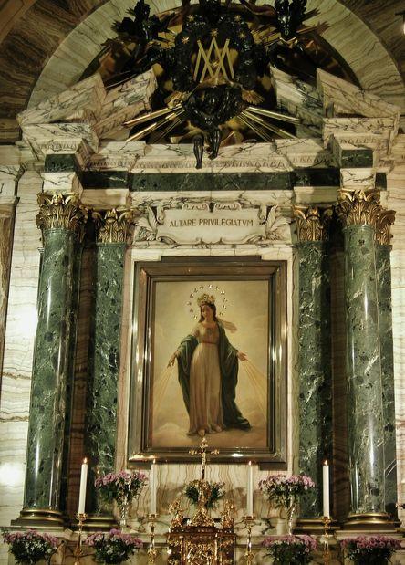 Sant' Andrea delle Fratte - Madonne du miracle