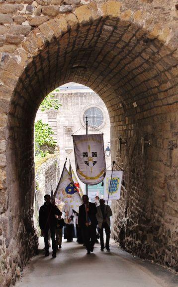 Procession vers la cathédrale