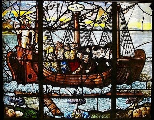 Le vaisseau de l'Eglise - Saint-Etienne du Mont
