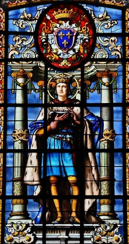 Saint Louis - vitrail