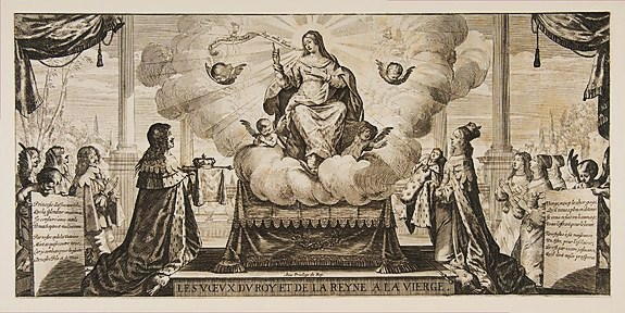Abraham Bosse voeu de Louis XIII