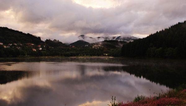 Après les orages - lac de Saint-Martial