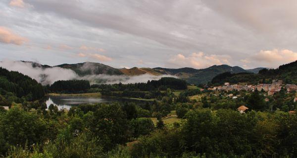 Après les orages - Saint-Martial et son lac