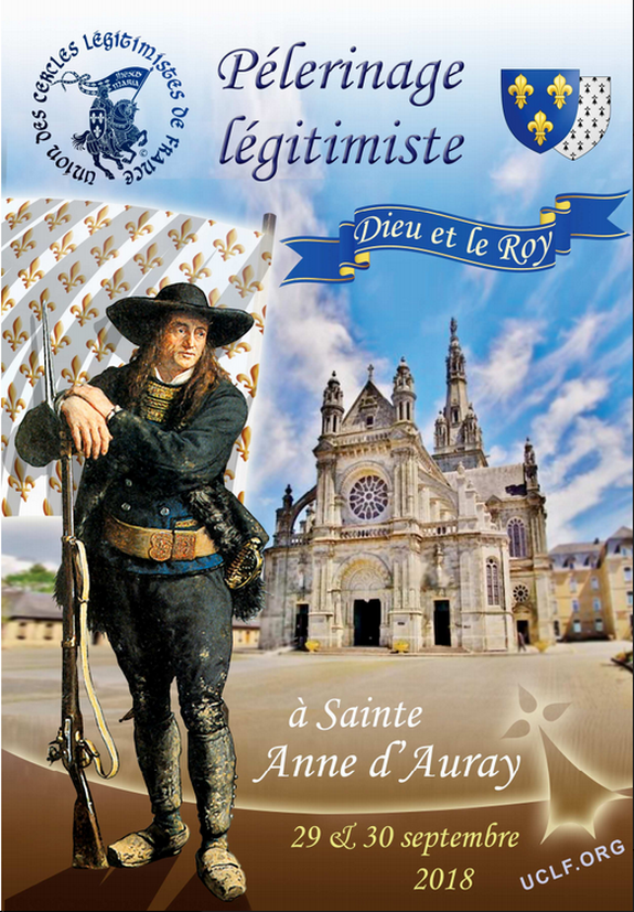 Pèlerinage légitimiste Sainte-Anne d'Auray 2018