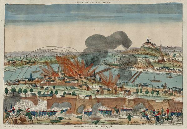 Siège de Lyon août-octobre 1793