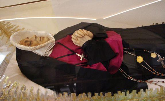 Corps de Sainte Thérèse Couderc