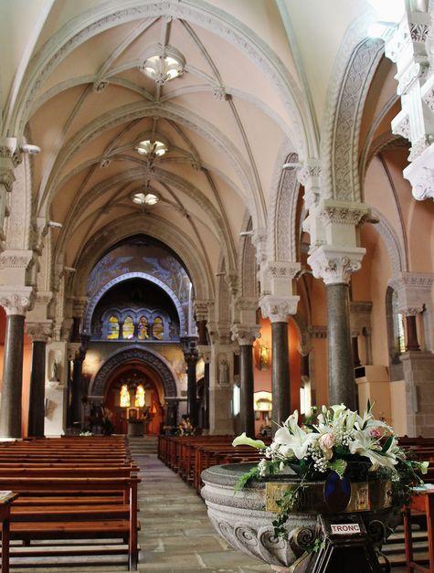 Basilique de La Louvesc intérieur