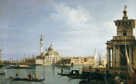Canaletto - Venise basilique San Giorgio