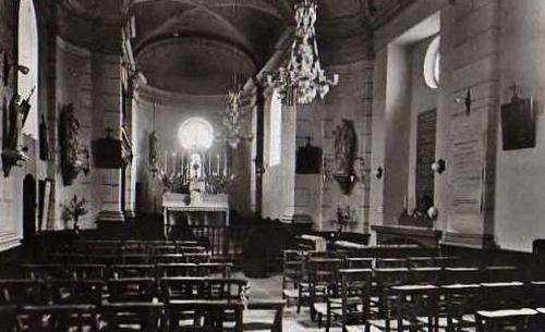 chapelle du cénacle après béatification 1951