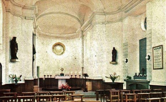 Chapelle du Cénacle après la canonisation 1970