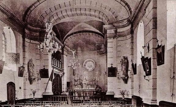 Chapelle du Cénacle dans la première moitié du XXe siècle