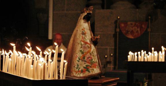 Vierge Noire, cathédrale du Puy - 14 août 2018